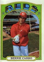 1972 Topps Baseball Cards      463     Bernie Carbo